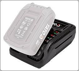 Зарядное устройство для аккумуляторов 18V YATO YT-82848, фото 3