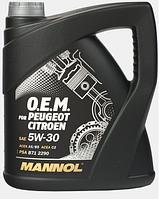 Моторное масло Mannol O.E.M. for Peugeot Citroen 5W30 1L