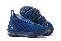 Мужские баскетбольные кроссовки Найк Lebron 16 Blue РЕПЛИКА ААА, фото 1