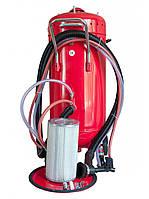 Беспылевый пескоструйный аппарат Carmax 105 литр. Рабочее давление 5,5 до 9 Bar. 220 Вольт