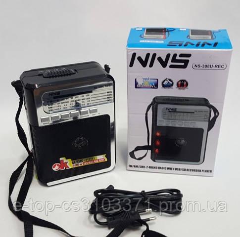 Радиоприемник с записью USB  NNS-308 U REC