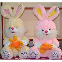 Мягкая игрушка Кролик с цветком №2329-42