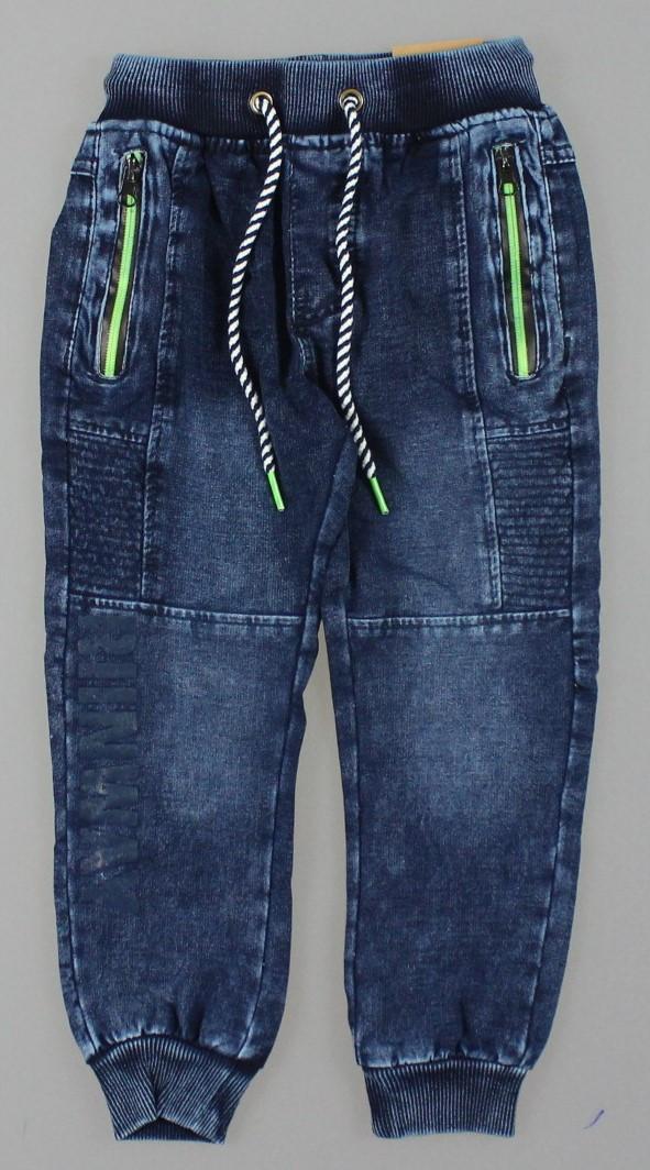 {есть:116} Брюки с имитацией джинсы для мальчиков Grace, Артикул: B82538 [116]