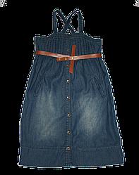 Детский летний джинсовый сарафан (Quadri Foglio, Польша)