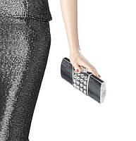 """Коллекционная кукла Барби """"Красная ковровая дорожка"""" Черно-серое платье/ Red Carpet Barbie - Grey & Black Gown, фото 4"""