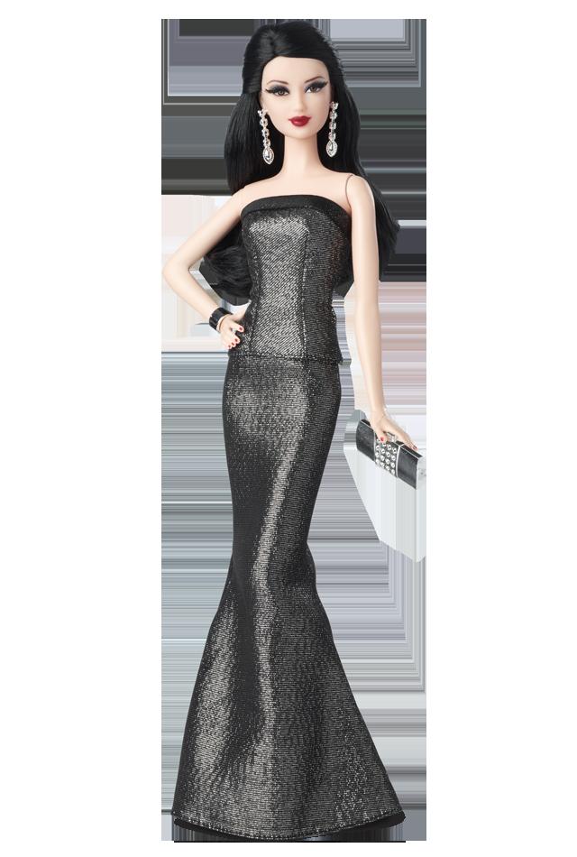 """Коллекционная кукла Барби """"Красная ковровая дорожка"""" Черно-серое платье/ Red Carpet Barbie - Grey & Black Gown"""