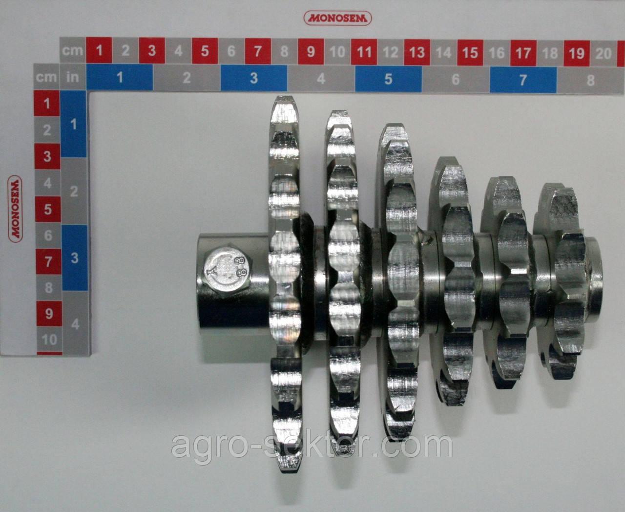 Блок звездочек верхний Monosem 4326-4, 66002549