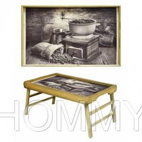 Прикроватный столик Зерна Кофе