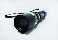 Тактический фонарик BL-T8626. Синий свет. Фонарь Bailong. Новинка. Анодированный алюминий. Код: КТМТ161