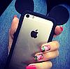 Бампер Ушки Микки для iphone 4/4s