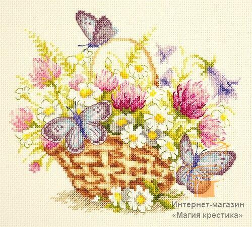 Набор для вышивки крестом Чудесная игла 40-80 «Летнее настроение»