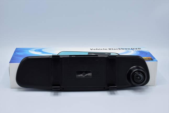 Зеркало регистратор L708 + камера заднего вида Видеорегистратор-зеркал регистратор в авто, фото 2