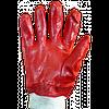 Перчатки маслобензостойкие (27 см) красные