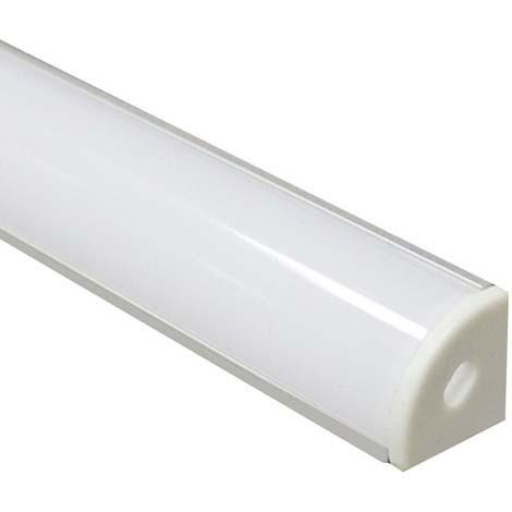 Алюминиевый профиль для светодиодной ленты накладной Feron CAB280 (2 метра)