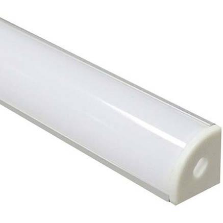 Алюминиевый профиль для светодиодной ленты накладной Feron CAB280 (2 метра), фото 2