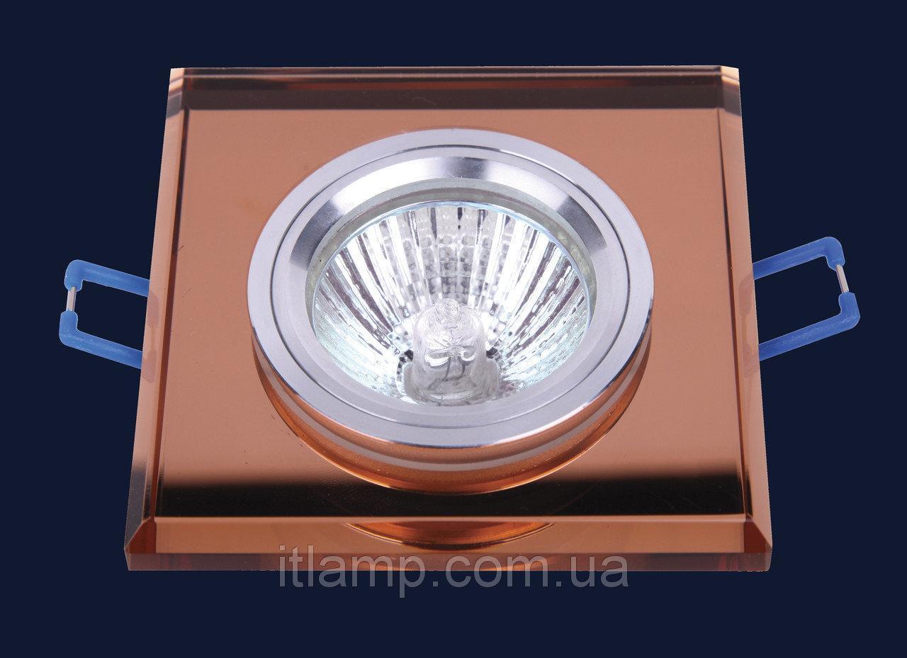 Врезной светильник со стеклом Art705119 lst