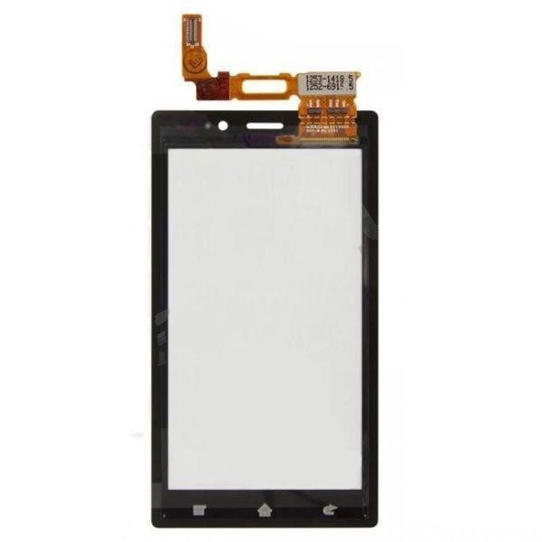 Сенсорный экран для смартфона Sony Xperia Sola MT27i, черный