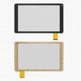 "Сенсорний екран для планшету Tablet PC 10.1"", Prestigio MultiPad Wize (PMT3131), 10,1"", 157x257mm, 50pin, чорний, #CN68FPC-V1 SR"