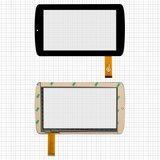 "Сенсорний екран для планшету Tablet PC 7"", 7"", 191x111 mm, 30 pin, чорний, #MT70223-V1/Q8-8/M170213 V0/ZP9020-7/TOPSUN-C0089(C0B)/FHF-070039-85"