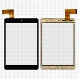 """Сенсорний екран для планшету Tablet PC 7.85"""", 7,85"""", 196x130mm 36pin, чорний, #FPC-CY785072(C8037)-01, XF20141105, HK80DR2498"""