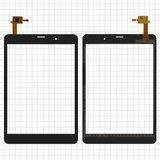 """Сенсорний екран для планшету Tablet PC 7.85"""", Bravis 3G Slim, 7,85"""", чорний, 196x132mm 6pin, #F-WGJ78094-V2"""