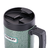 Термочашка Stanley Classic 0.5 л зеленая, фото 2