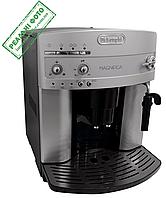 Кофемашина Delonghi ESAM 3000 В, б/у Серебристый