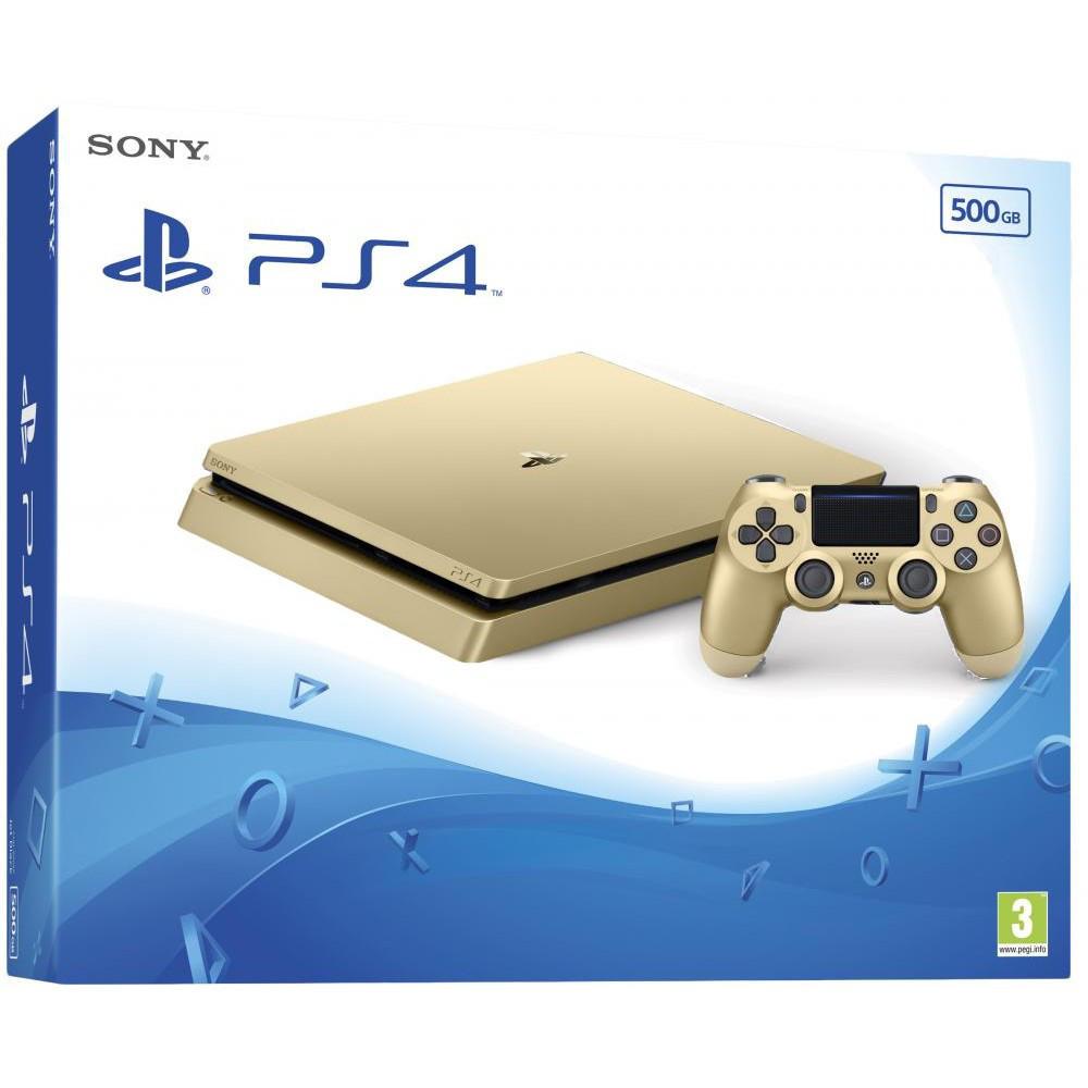 Игровая приставка Sony PlayStation 4 Slim (PS4 Slim) 500GB Gold