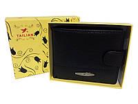 Чоловічий гаманець із зажимом Tailian чорний, фото 1