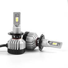 Светодиодная лампа F18 цоколь H7, HML3 6000К, 14000 lm 30W, 9-36В + CANBUS