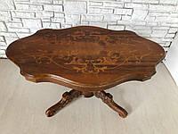 Изысканный столик журнальный б/у, мебель дубовая, б\у мебель Луцк,