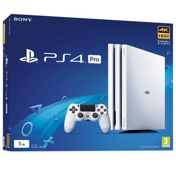 Игровая приставка Sony PlayStation 4 Pro (PS4 Pro) CUH-7216B 1TB White