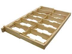 Комплект рамок 435*300 с 12-тю рамк. для сотов. меда