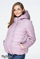 Демисезонная куртка для беременных MARAIS, серо-розовая, фото 1