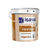 Краска с кварцем, для фасадов и интерьеров, Изаваль Ревисаль ругосо(Isaval Revisal rugoso) 20 кг