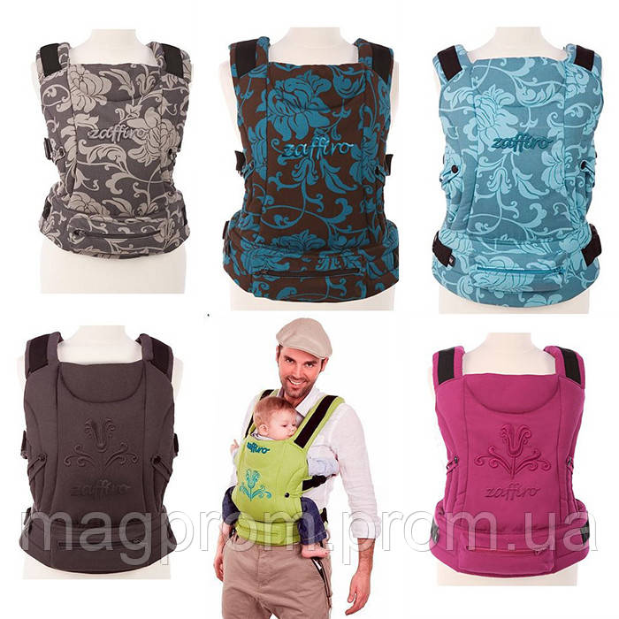 """Рюкзак для переноски детей Womar Zaffiro Eco (слинги, кенгуру, кенгурушки, эргорюкзаки, вомар) [6 цветов] - """"МагПром"""" - Семейный интернет-магазин в Запорожье"""