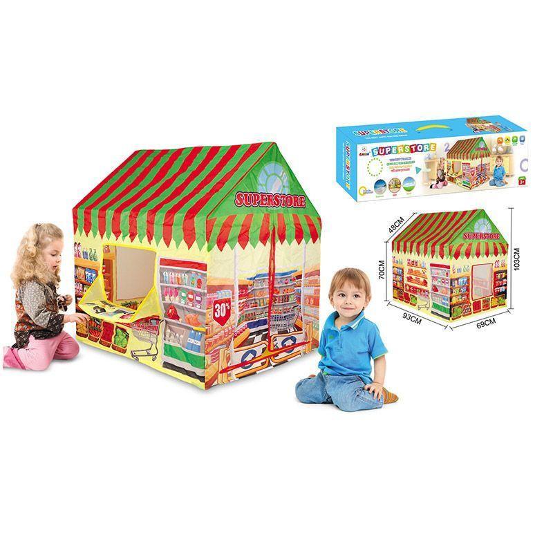 Детская палатка Супермаркет 995-7055A, магазин