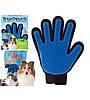 Перчатка, щетка, массажер для вычесывания шерсти собак и кошек True Touch, Тру Тач, фото 9