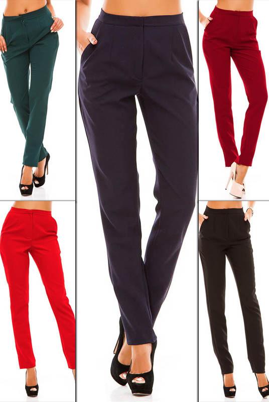 Классические брюки с высокой посадкой Сислей