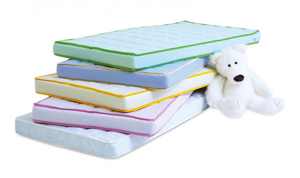Матрас детский в кроватку Twins Luxe Гречка 120x60 White