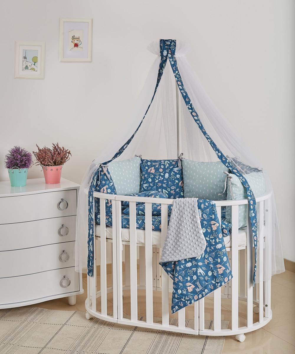 Детская постель Twins Dolce Лесные жители 8 эл D-011