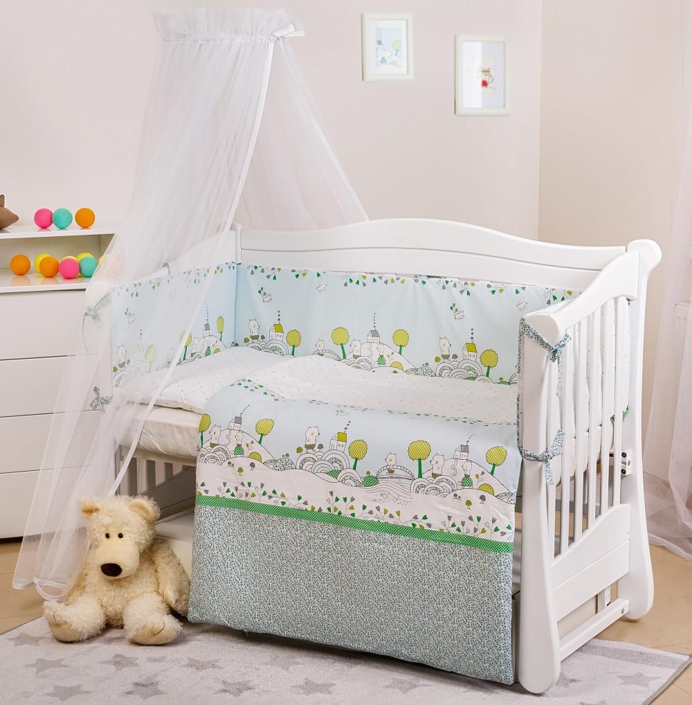 Детская постель Twins Eco Line Village 6 эл E-010