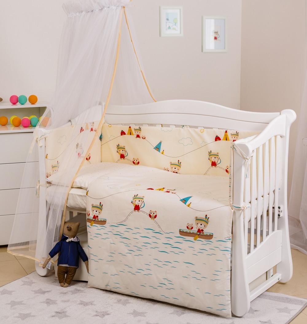 Детская постель Twins Eco Line Village 6 эл E-012