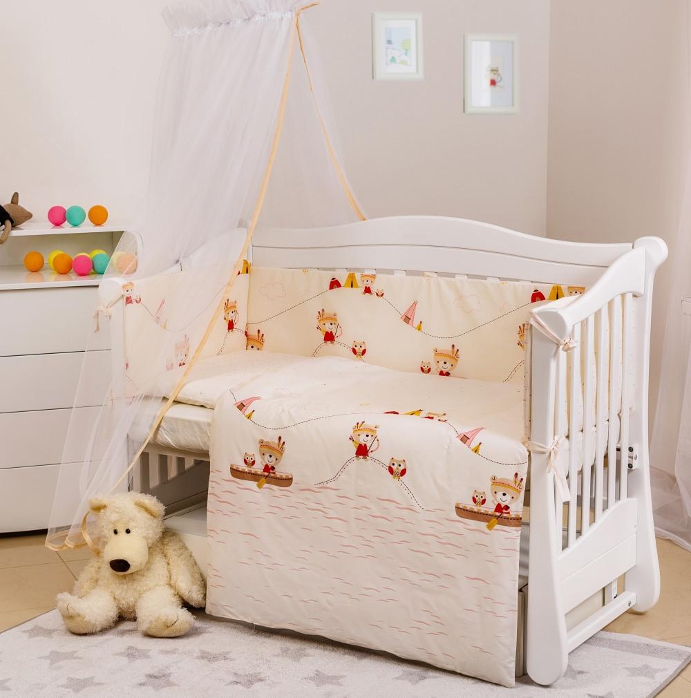 Детская постель Twins Eco Line Village 6 эл E-013
