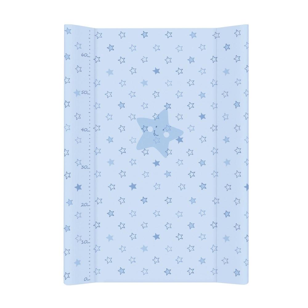 Пеленальная дошка Ceba Baby 50х70 блакитна Зірочка