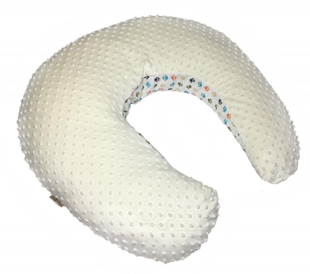 Универсальная подушка для беременных Twins Minky ecru - фото 2