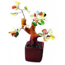 Дерево декоративное с камнями