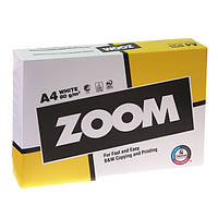 Бумага офисная ZOOM  А4 80г/м2 (Финляндия) от 5 пачек (класс В)