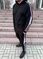 Спортивный костюм Gucci D5780 черный утепленный