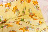 Дитяча постіль Qvatro Gold RG-08 малюнок жовта (ведмедики сплять, місяць), фото 2